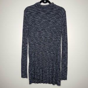 Free People Back Slit Knit Sweater Dress Sz M
